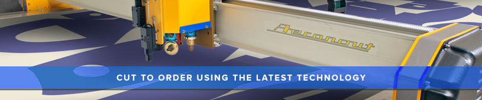 All our mats are cut to order using the latest technology